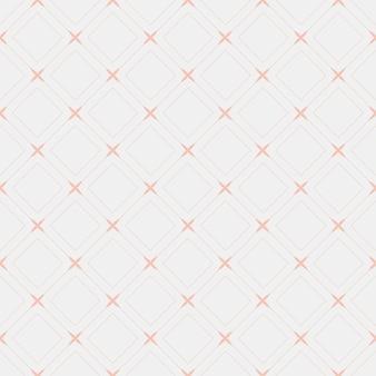 Ilustração em vetor padrão diamante sem emenda