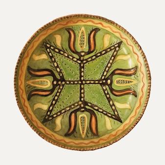 Ilustração em vetor placa vintage, remixada da obra de arte de jessica price