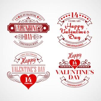 Ilustração em vetor tipografia dia dos namorados