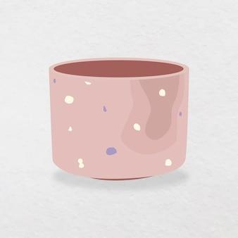 Ilustração em vetor vaso moderno