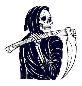 Ilustração fantasma