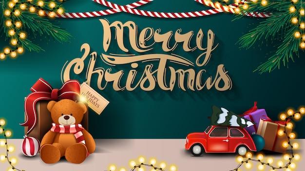 Ilustração feliz natal