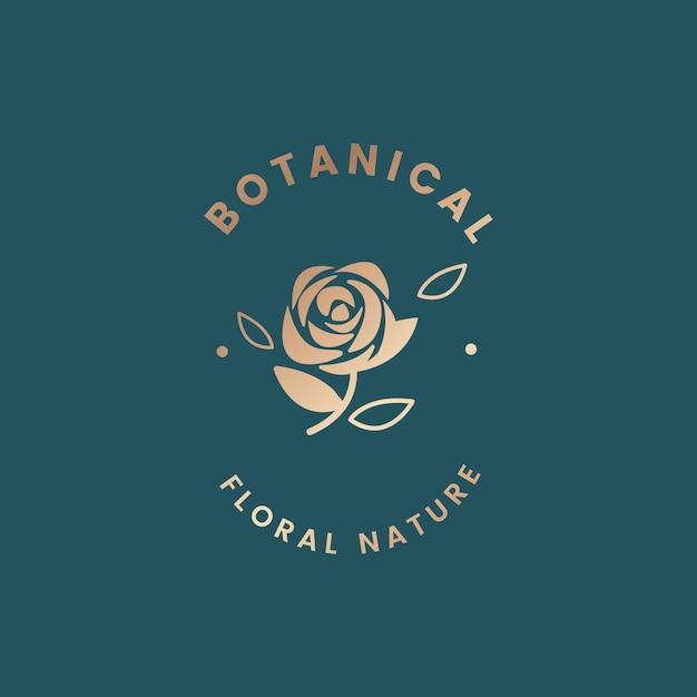 Ilustração floral botânica