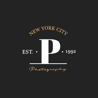 Ilustração, foto, estúdio, selo, bandeira
