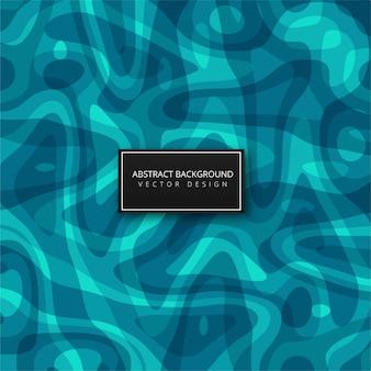 Ilustração geométrica azul abstrata do fundo