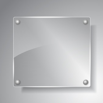 Ilustração glass board