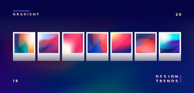 Ilustração gradiente