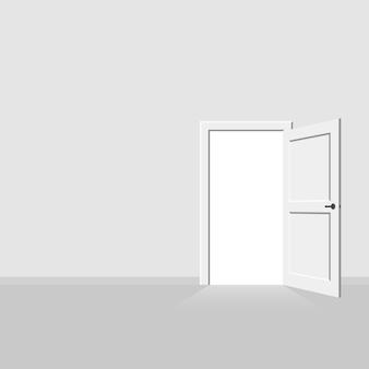 Ilustração interior da porta