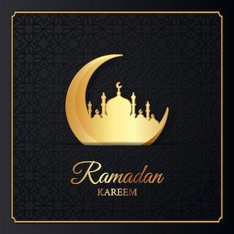 Ilustração islâmica ramadan kareem design