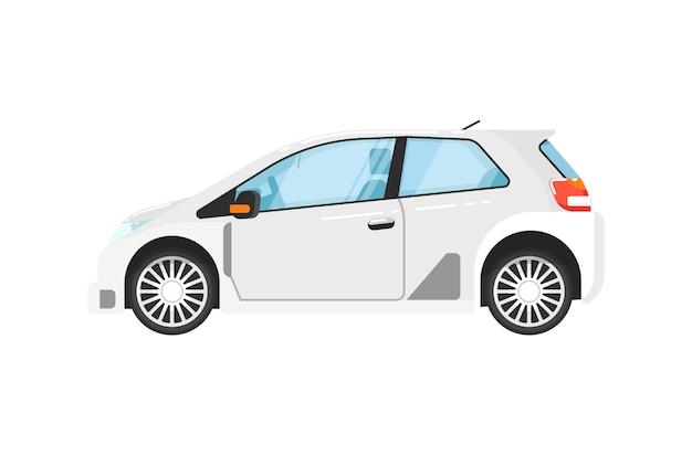Ilustração isolada carro universal moderno