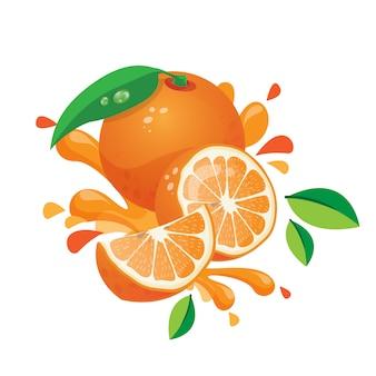 Ilustração laranja