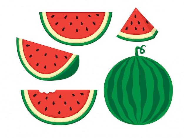 Ilustração melancia