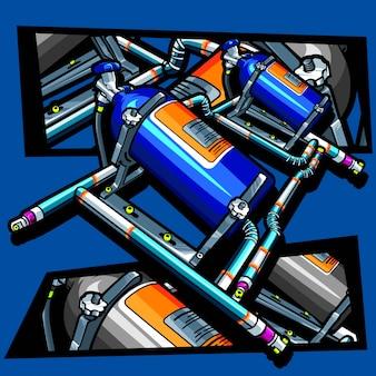 Ilustração nitrosa