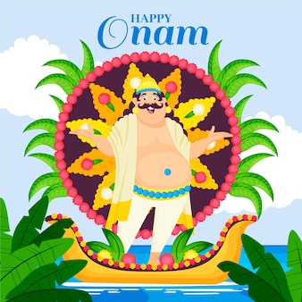 Ilustração oname indiana