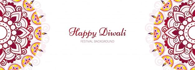 Ilustração ou cartão do festival de diwali