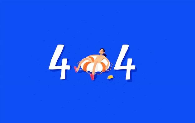 Ilustração para a página 404.