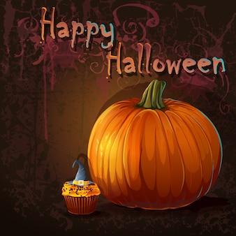 Ilustração para o feriado de halloween