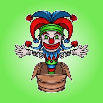 Ilustração personagem do dia da mentira