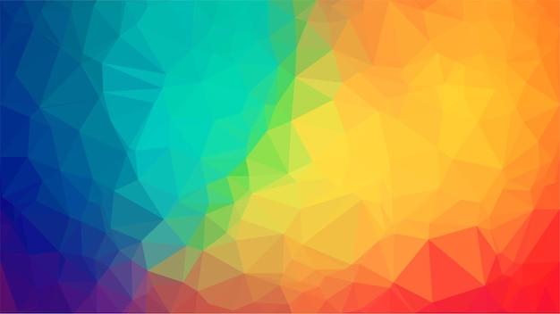 Ilustração poligonal multicolor. fundo geométrico no estilo origami.