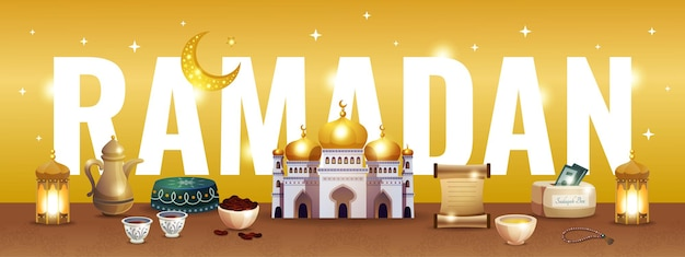 Ilustração ramadan kareem