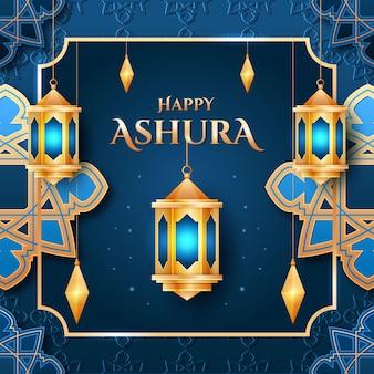 Ilustração realista de ashura