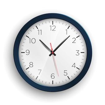Ilustração realista do tempo do relógio.