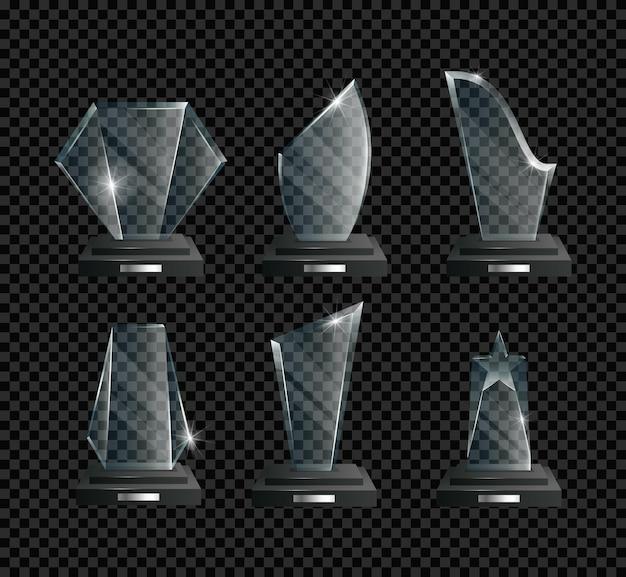 Ilustração realista dos prêmios