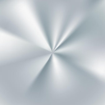 Ilustração silver radial gradient