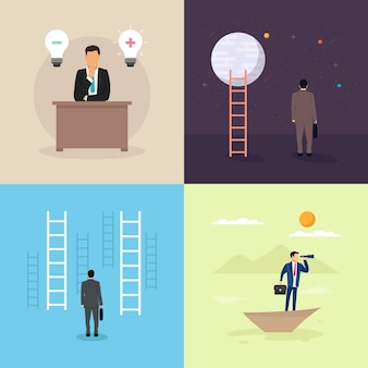Ilustração sobre o opportunity