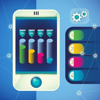 Ilustração tecnologia