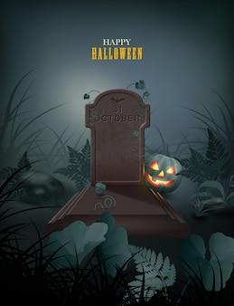 Ilustração temática de halloween
