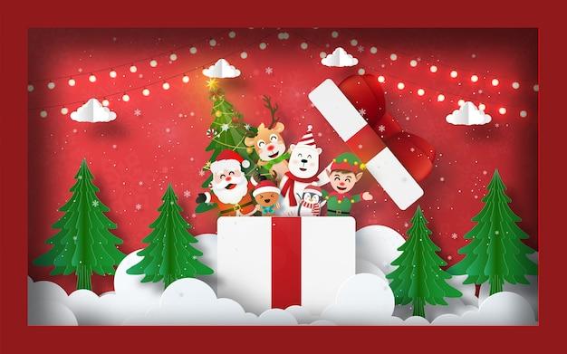 Ilustração temática de natal