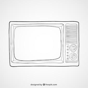 Ilustração tv