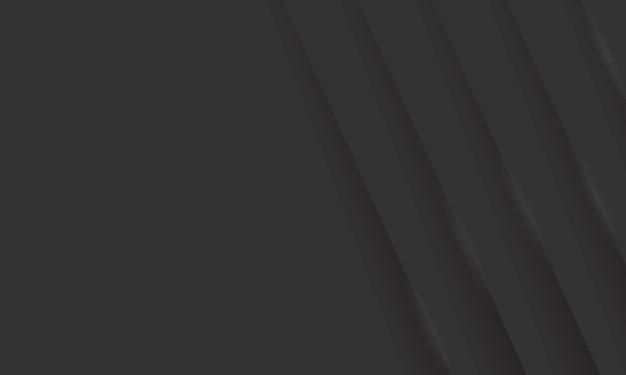 Ilustração vetorial de camada sobreposta abstrata preta