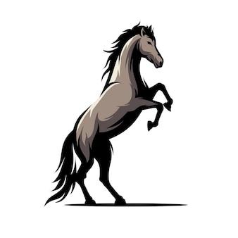 Ilustração vetorial de cavalo