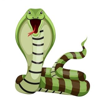 Ilustração vetorial de cobra