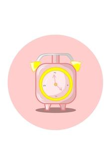Ilustração vetorial de despertador