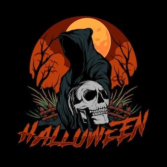Ilustração vetorial de halloween