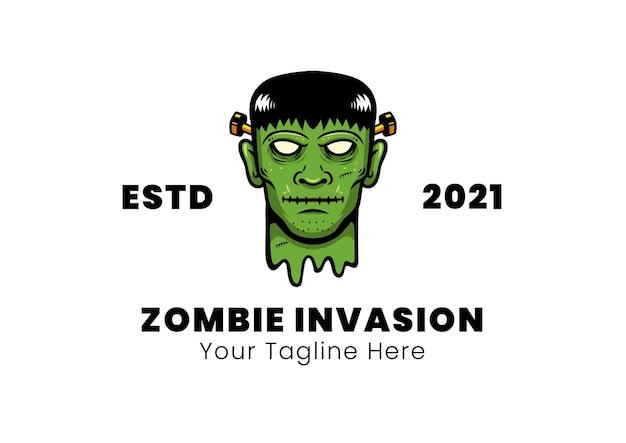Ilustração vetorial de invasão de zumbi