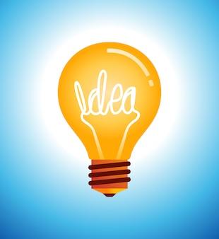 Ilustração vetorial de lâmpada