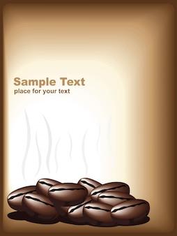 Ilustração vetorial do café