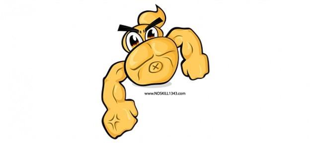 Ilustração vetorial muscular