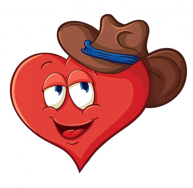 Ilustração vetorial sobre coração para dia dos namorados