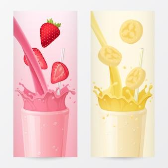 Ilustrações de bebidas doces
