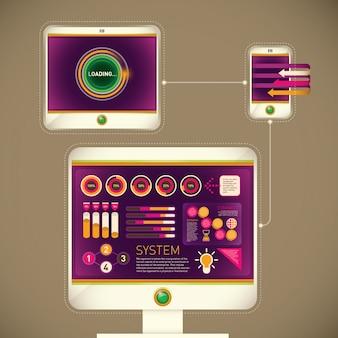 Ilustrações de tecnologia