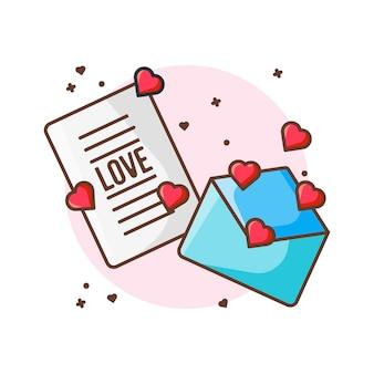 Ilustrações do ícone. valentine ícone conceito branco isolado.