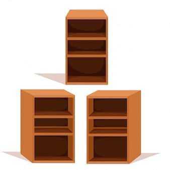 Ilustrador de estante para venda
