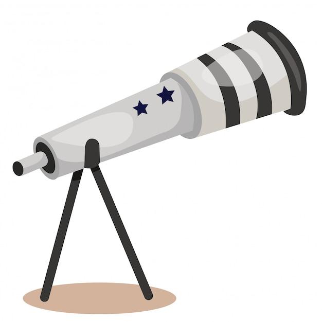 Ilustrador do telescópio