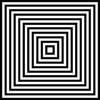 Imagem abstrata fascinante hipnótica.
