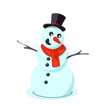 Imagem de boneco de neve